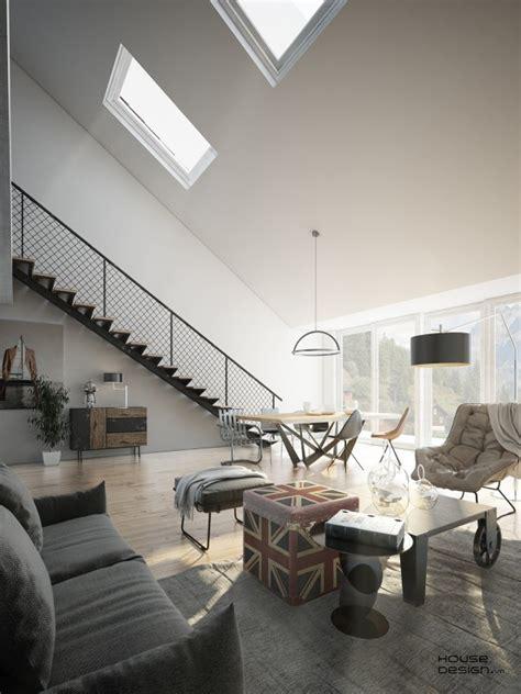 4 Stylish Homes With Slanted Ceilings 4 stylish homes with slanted ceilings