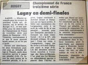 Societe Generale Gargenville : saison 1984 1985 as lagny rugby ~ Premium-room.com Idées de Décoration