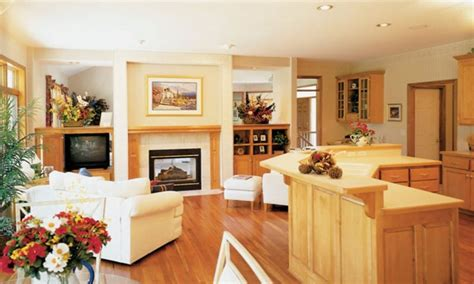 open concept floor plans  small homes