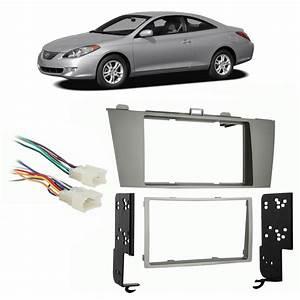 Toyota Camry Solara 2004-2008 Double Din Stereo Harness Radio Install Dash Kit