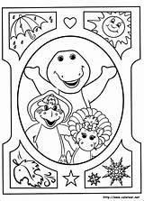 Barney Dibujos Colorear Sus Amigos Coloring Friends Imprimir sketch template