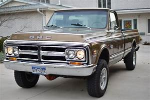 1970 Gmc K2500 4x4 3  4 Ton Long Bed Pickup Truck For Sale