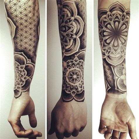shading   foreground tattoos  separate