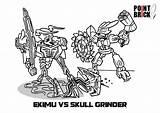 Coloring Bionicle Grinder Lego Colorare Da Pages Ekimu Disegni Skull Vs Per Brick Point Sull Immagine Clicca Scaricarla Gratuitamente Designlooter sketch template
