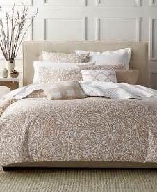 closeout charter club damask designs paisley taupe king comforter set only at macy s bedding