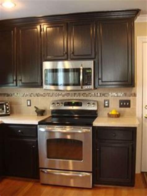 1000 ideas about dark kitchen cabinets on pinterest