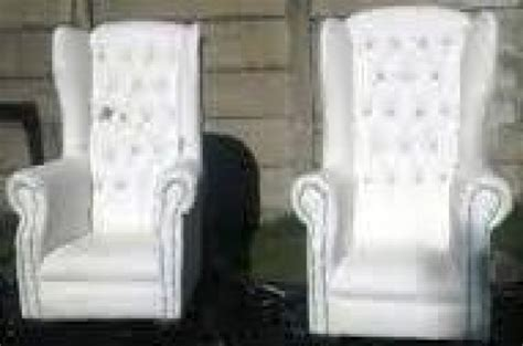 his and hers chairs for hire from r800 benoni