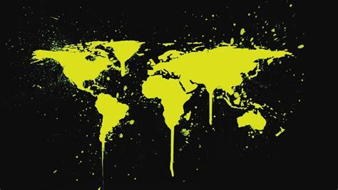 Download Black World Map Wallpaper 1080p For Free ...