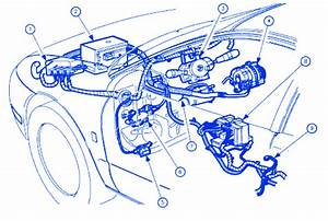 Saturn Aura 2008 Main Electrical Circuit Wiring Diagram