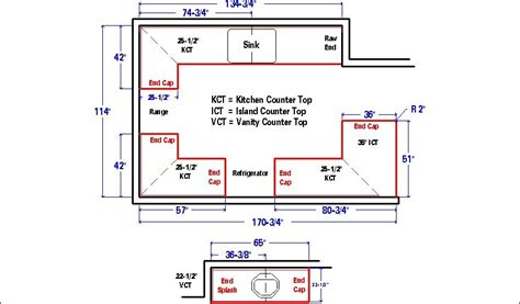 how to measure kitchen countertops measuring new cabinets for laminate countertops