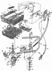 Viking Range Corp  Undercounter Dishwasher Dishwashing System Parts