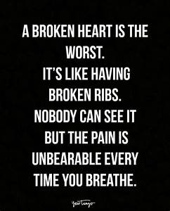 16 Painfully Gr... Injured Heart Quotes