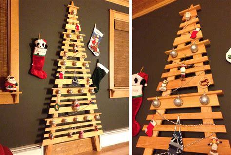 diy wall mounted christmas tree  home  style