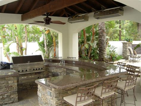 beautiful outdoor kitchens  yard bars  outdoor