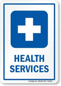 Medical and Health Services Sign