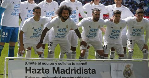 Real send 'stay strong' message to Iker Casillas - World News