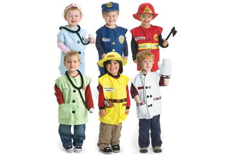 Excellerationsu00ae Career Toddler Costumes - Set of All 6