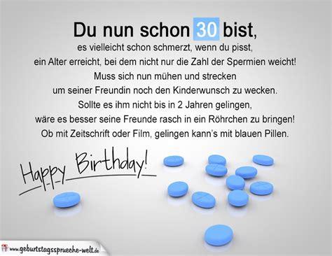 Kurzer Lustiger Reim Zum 30. Geburtstag