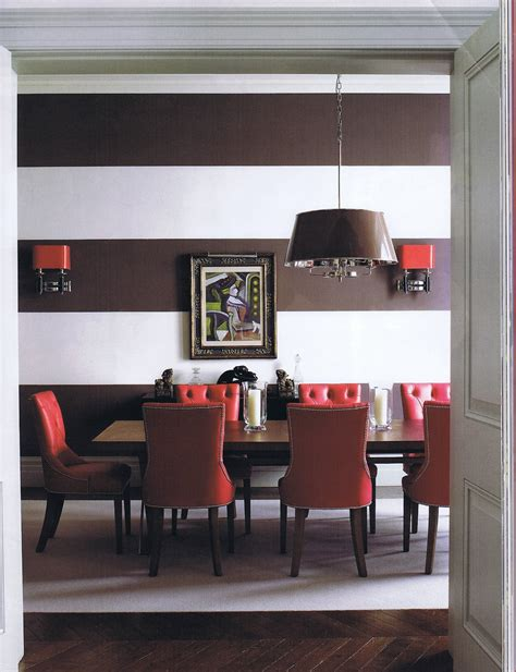 Dark Red Dining Room Theamphlettscom