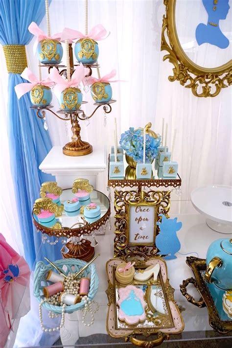 cinderella decorations kara s ideas godmother cinderella birthday