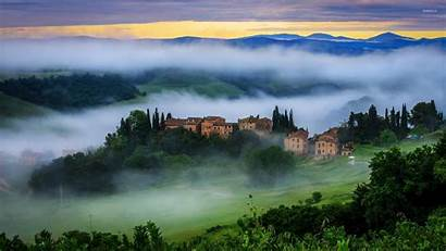 Tuscany Nature Wallpapers Italy Background Europe Pc