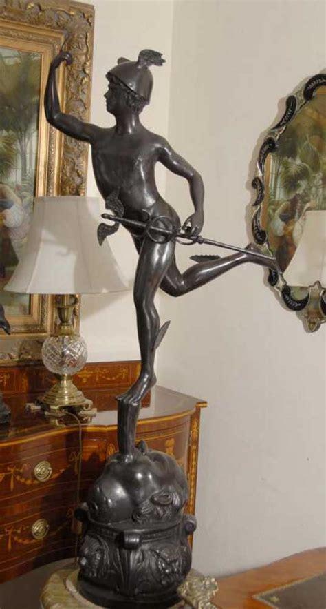 ft italian bronze statue mecury gods roman