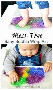 Baby Bubble Wrap Art