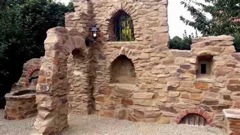 gartenmauer mit dem charme einer ruine teil  youtube
