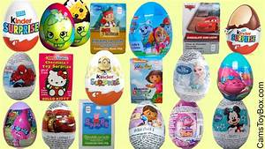 Chocolate Surprise Easter Eggs Trolls Despicable Me 3 ...