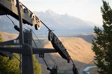 scenic chairlift ride at snow king what to do in jackson