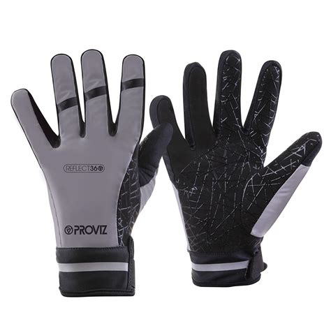 Reflect360 Waterproof Cycling Gloves  Reflective Gloves