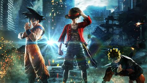 wallpaper jump force anime video game