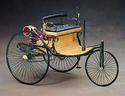 Image result for first successful petrol-driven motorcar, built by Karl Benz,