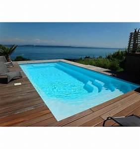 Piscine Enterrée Coque : piscine coque aqua 8 pour une mise en oeuvre simple et rapide ~ Melissatoandfro.com Idées de Décoration