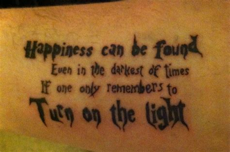 harry potter quote tattoo love  happy nerd tattoos