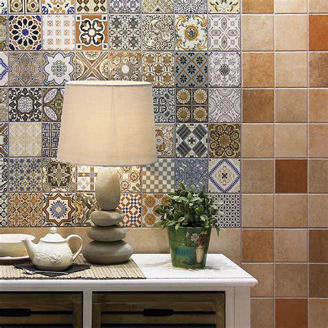 Maalem Decor Matt Patchwork Moroccan Pattern Porcelain