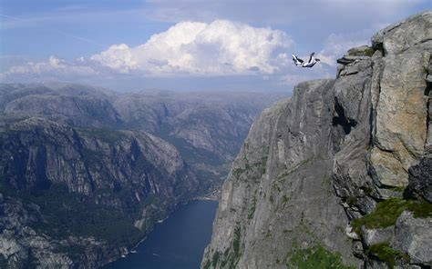 cliff diving hd wallpapers background images