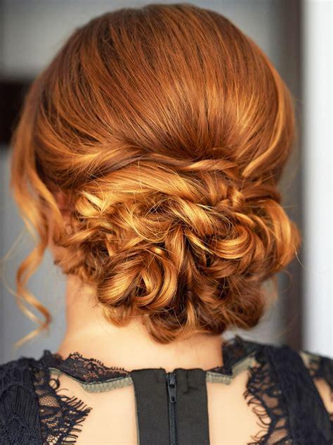 kurze haare locken hochsteckfrisuren frisuren lange