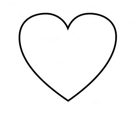 Heart Shaped Coloring Pages - tryonshorts.com | Shape ...