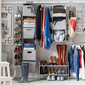 Tips for Organizing a Small Reach-in Closet HGTV's