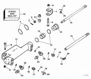 Hydraulic Steering Kit Steering 1999 Accessories For 1999 Johnson Evinrude Outboards
