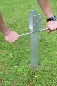 Comment Fixer Un Poteau Bois Au Sol : terrasse sur poteaux et poutres guide construction ~ Dailycaller-alerts.com Idées de Décoration