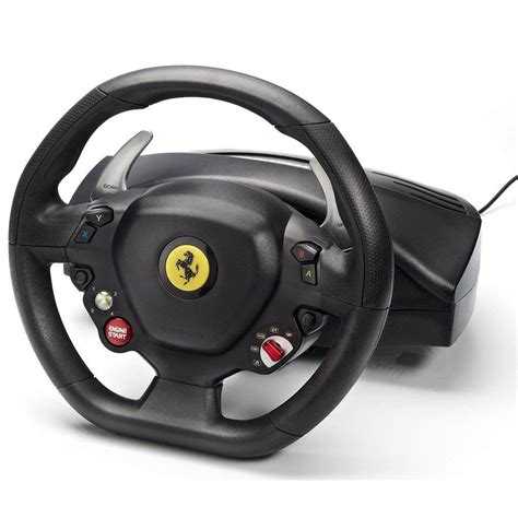 So if you've bought this for pc, i hope you like forza games. Volante Thrustmaster Ferrari 458 Spider Racing Wheel - Xbox One / PC