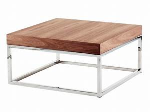 azon square coffee table by azea design victor caetano With low square wooden coffee table