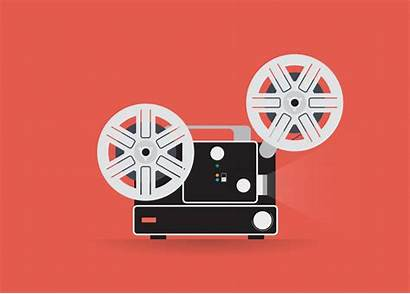 Super 8mm Projector Graphic Film Notwo Mark