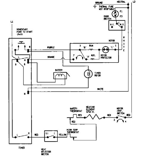 appliantology archive washer  dryer wiring diagrams