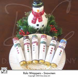 Free Printable Snowman Candy Bar Wrappers Christmas