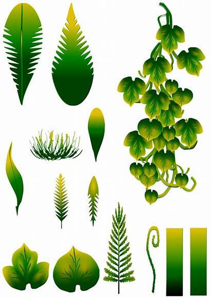 Plant Stylized Textures Simple Opengameart