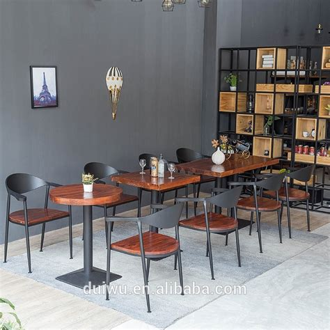 vintage industrial style furniture wholesale coffee shop