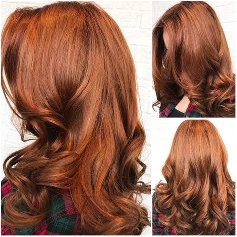 Drab And Faded To Wow Red Hair Color Modern Salon